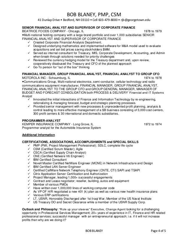 Georgetown resume