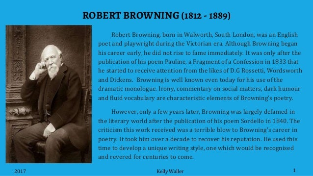 "does browning reveal his character psyche porphyria s love Robert browning, goethe, the pied which reveal browning's early almost morbid obsession finds a parallel in browning's poetry in ""porphyria's lover."