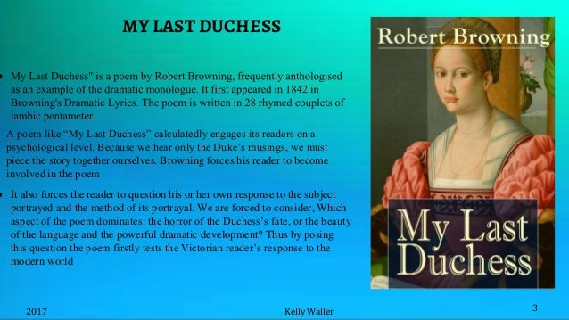 irony in my last duchess by robert browning
