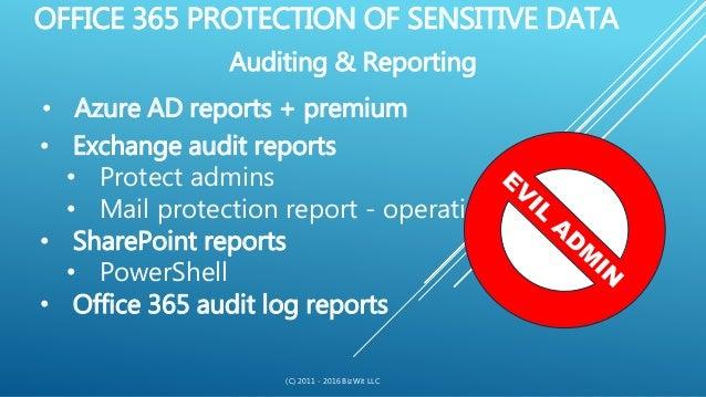 Robert Brzezinski - Office 365 Security & Compliance: Cloudy