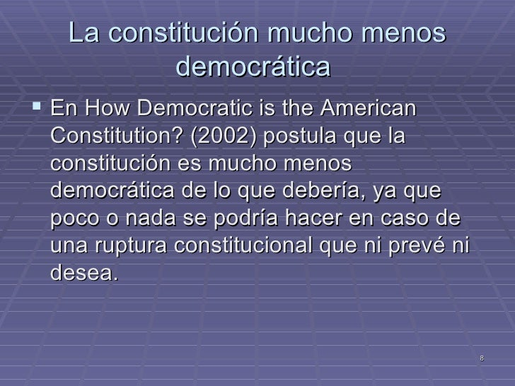 constitution elitist or democratic Compatibility of democracy and learner discipline in south compatibility of democracy and learner discipline liberal democratic theory, elitist theory and.