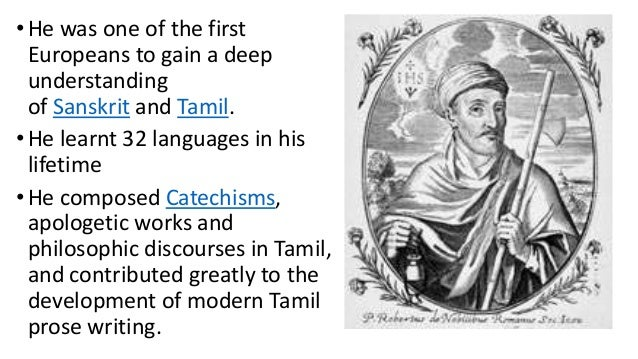 Sanskrit Of The Vedas Vs Modern Sanskrit: Robert De Nobile, Christian Missionary In Madurai, Roman