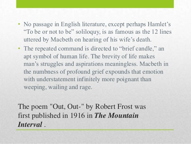 The theme of loss in 'Disabled' by Wilfred Owen and 'Out, out' by Robert Frost