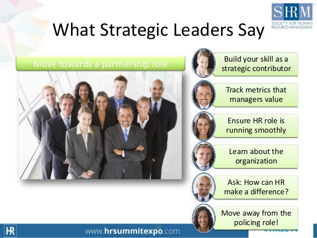 The Role Of The Hr Professional In Creating A High
