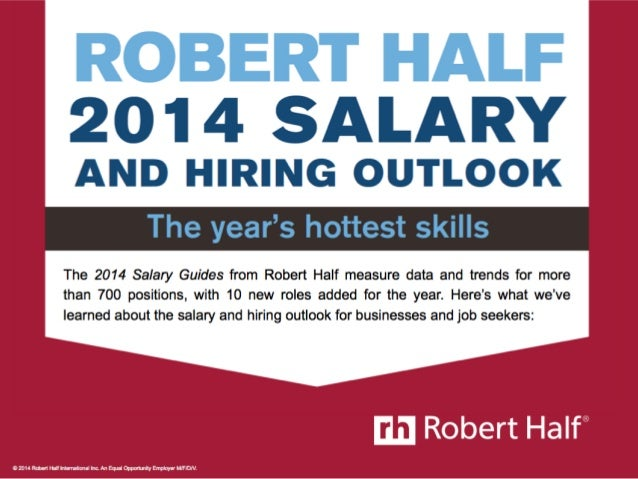 The Year's Hottest Skills: 2014 Salary and Hiring Trends