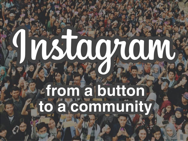 'lmtagnum  from a button to a community