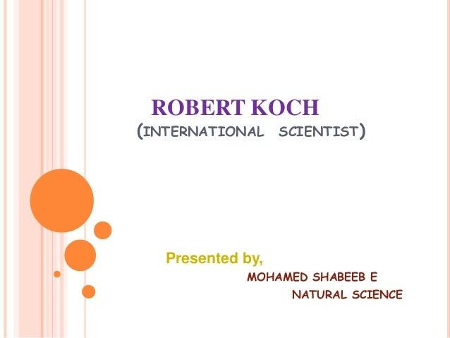 Robert koch Slide 2