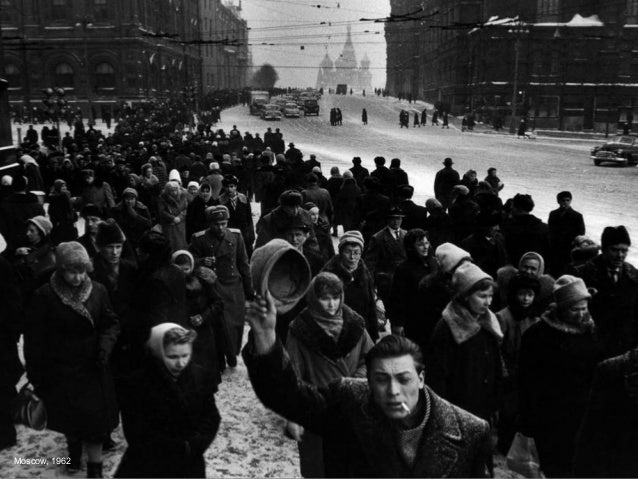 In Gorky Park, Moscow 1962
