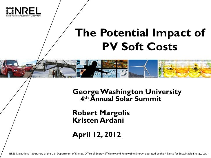 The Potential Impact of                                                           PV Soft Costs                           ...
