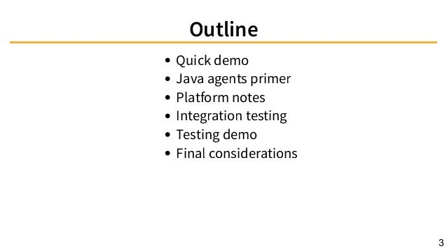 Java agents for fun and (not so much) profit Slide 3