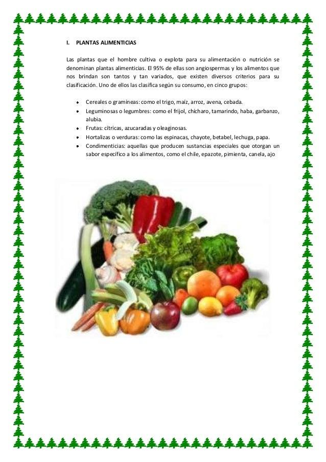 Plantas ornamentales concepto las plantas alimenticias for Concepto de plantas ornamentales
