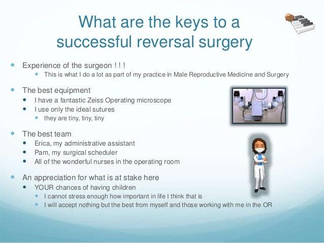 post vasectomy sperm test instructions
