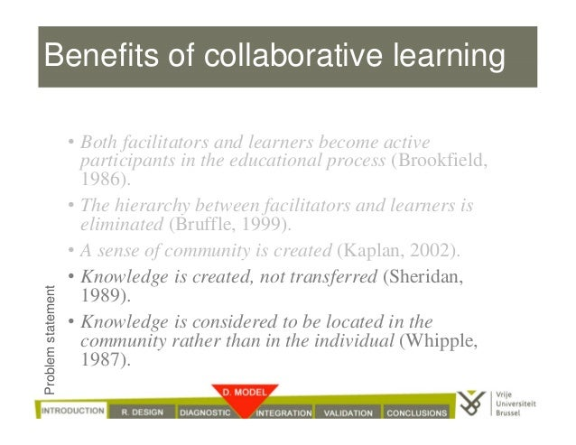 Collaborative Teaching Reaping The Benefits : Phd presentation quot supporting collaborative learning among