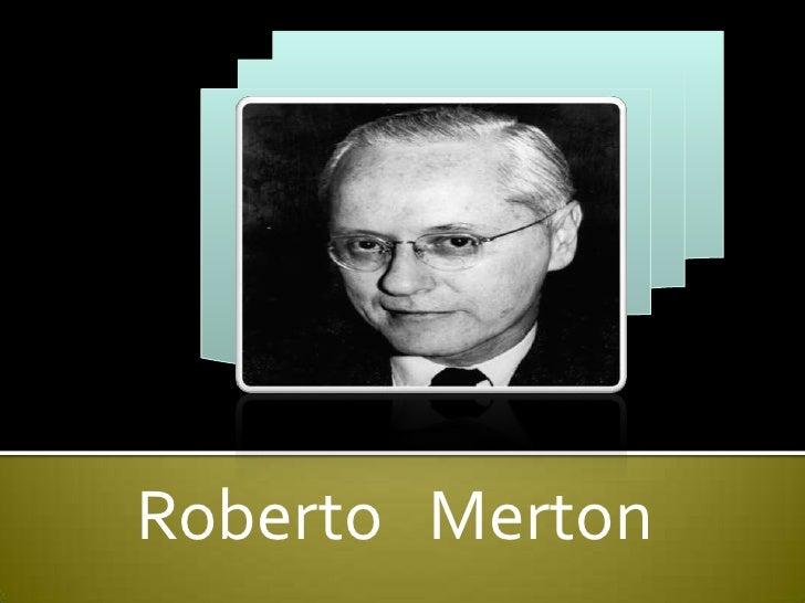 Roberto Merton