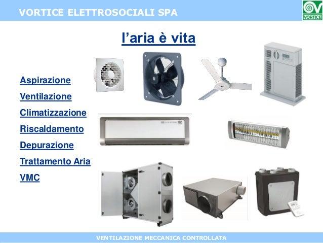 Roberto perego vortice elettrosociali spa - Aerazione forzata bagno ...