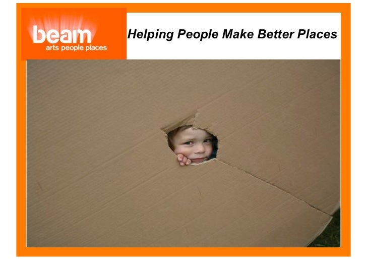 Helping People Make Better Places