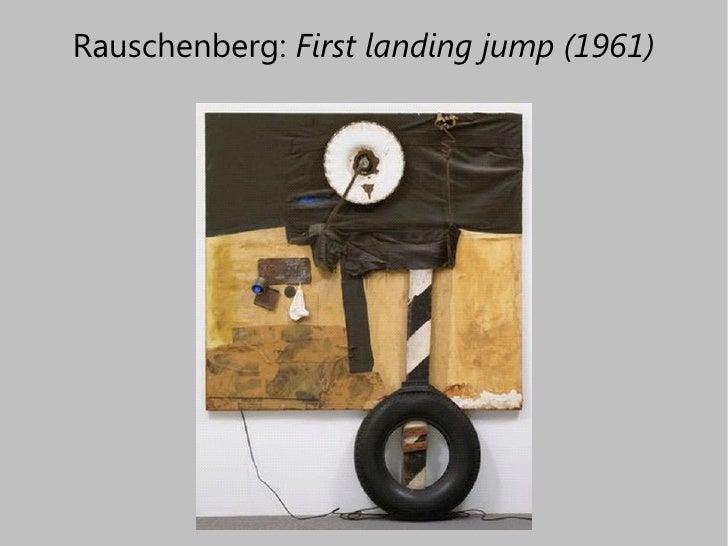 Robert Rauschenberg First Landing Jump