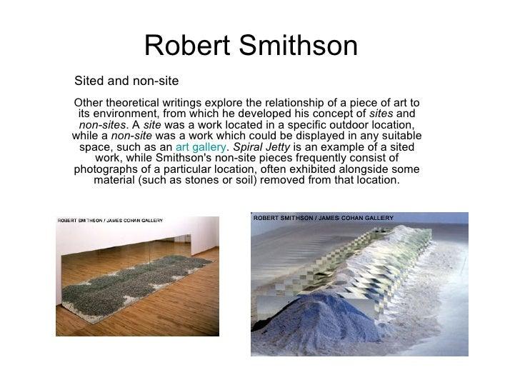 robert smithson spiral jetty pdf