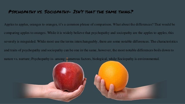 psychopath and sociopath difference