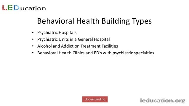 Construction Shortages • Lack of inpatient beds in all psychiatric hospital settings • Patients have no where to go but th...