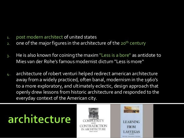 robert venturi architect. Black Bedroom Furniture Sets. Home Design Ideas