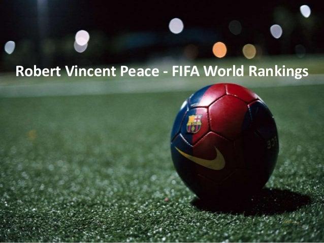 Robert Vincent Peace - FIFA World Rankings