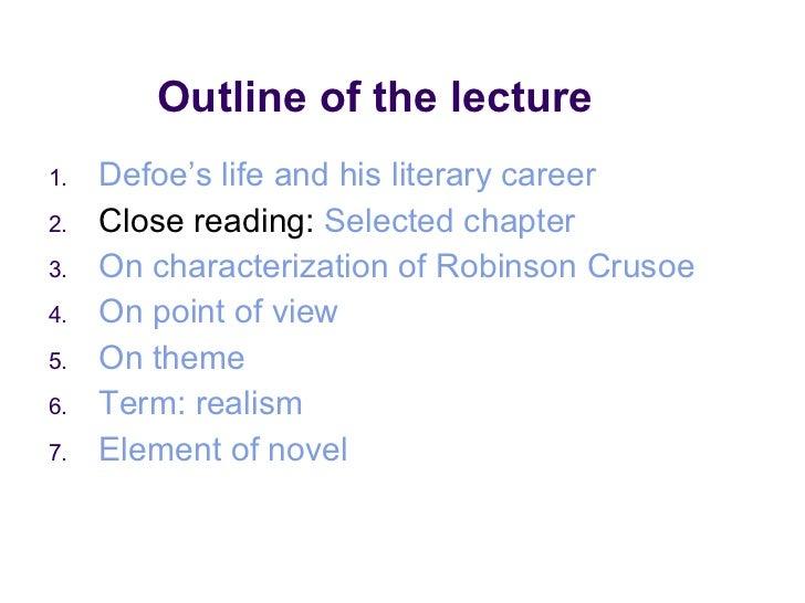Robinson crusoe Slide 2