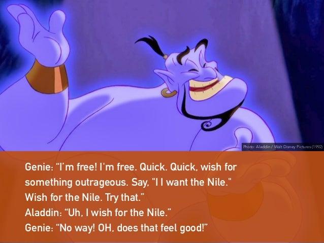 Genie I Wish You Free