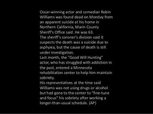 Robin Williams (1951-2014) Slide 2