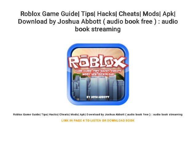 Roblox How To Download Audio Roblox Game Guide Tips Hacks Cheats Mods Apk Download By Joshua