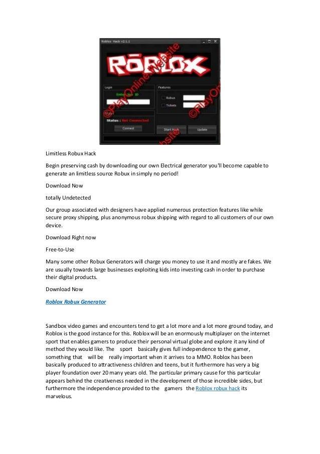 Roblox Generator Roblox Robux Hack No Survey 2015