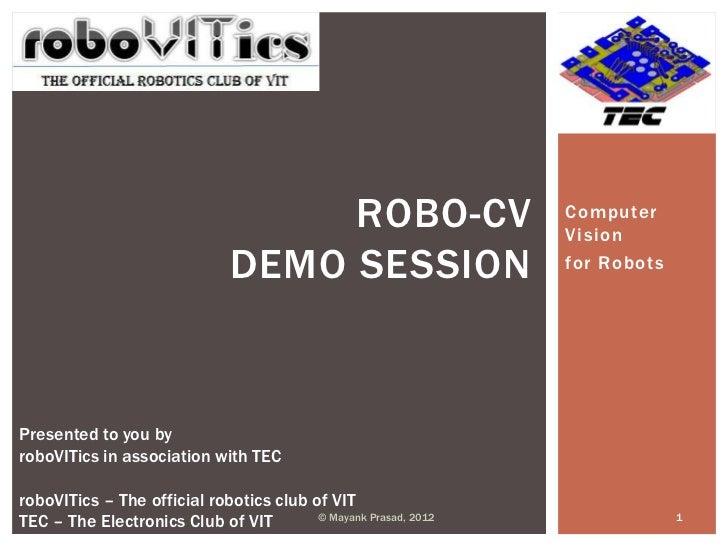 ROBO-CV                      Computer                                                                 Vision              ...