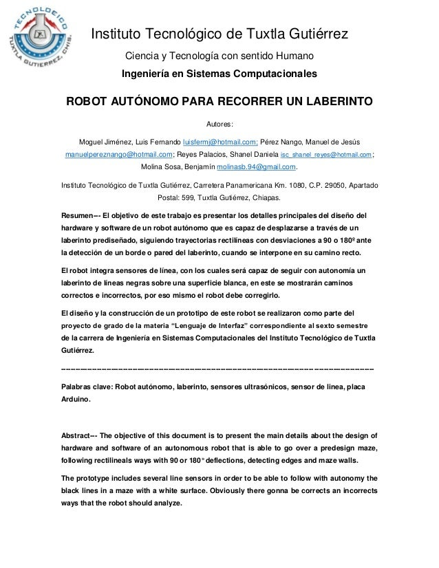 Instituto Tecnológico de Tuxtla Gutiérrez Ciencia y Tecnología con sentido Humano Ingeniería en Sistemas Computacionales R...