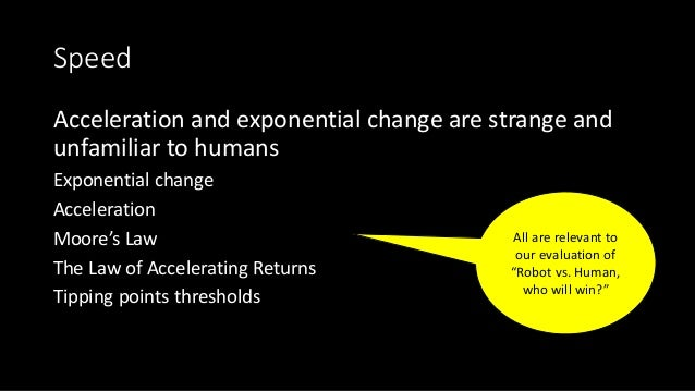 Acceleration and exponential change are strange and unfamiliar to humans The parable of the kingly reward for the inventor...