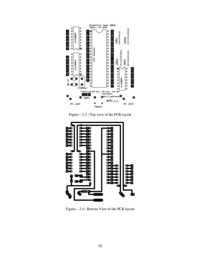 microcontroller based robotic arm control
