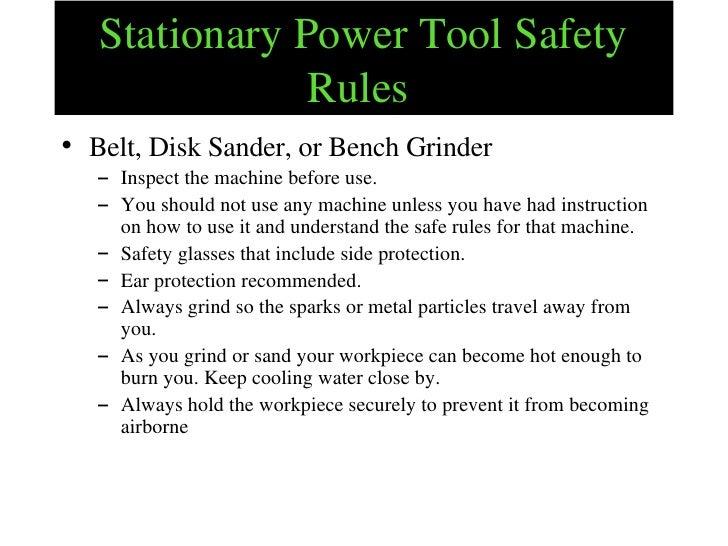 Robotic Workshop Safety Tips