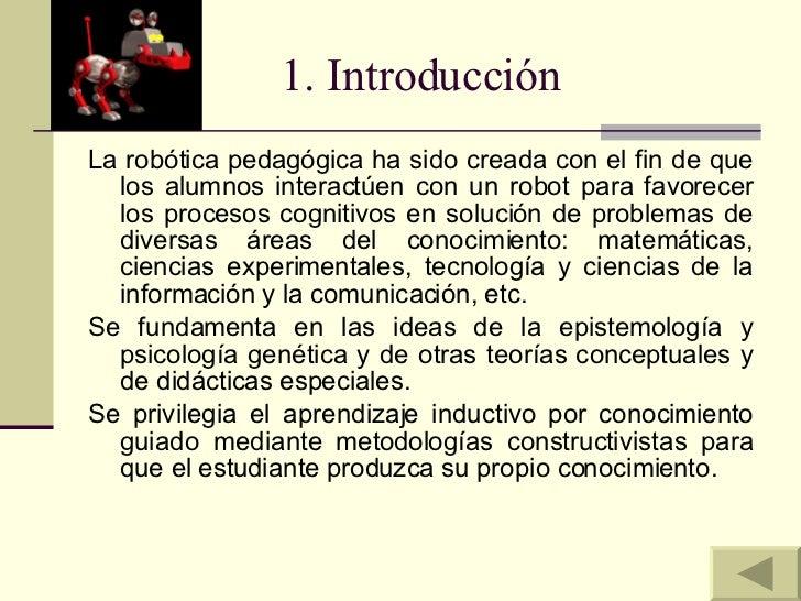 Robotica Pedagogica Slide 3