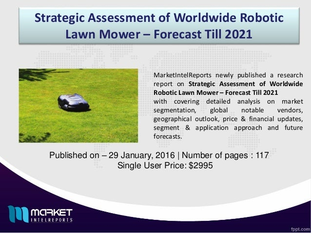 market segmentation for lawn mowers Ch 8 1 suppose your company has just acquired a firm that produces battery-operated lawn mowers answer: segmentation is the subdividing of a market into.