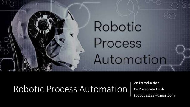 Robotic process automation Introduction