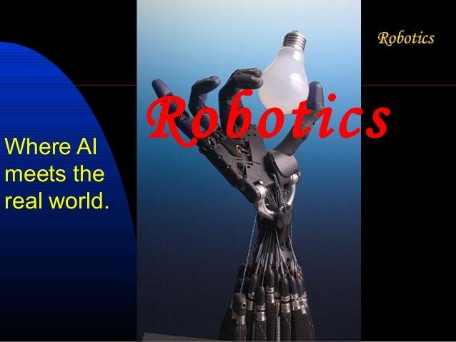 Where AI              Roboticsmeets thereal world.