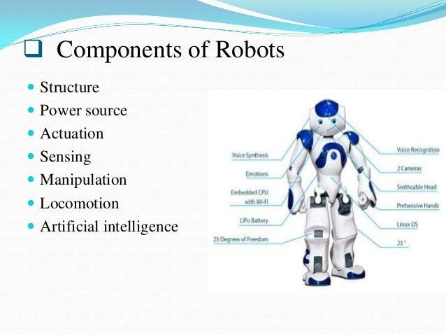 Parts Of A Robot Car