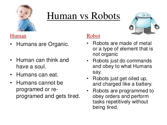 Humans vs. Robots, which species is winning?