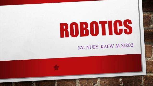Robot is a system that contains sensors, control systems, manipulators, power supplies and software all working together t...
