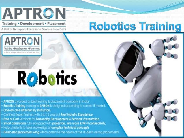 Robotics Training With Placement