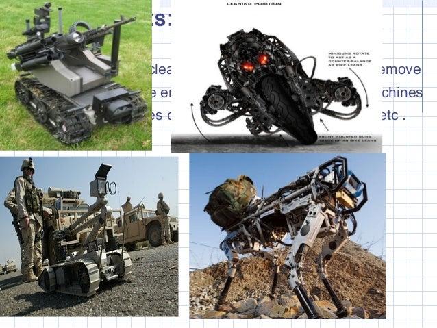 robot technology essay Free essay: running head: emerging technology - robotics emerging technology - robotics team a las-432 professor stuart vanorny 28 february, 2013 devry.