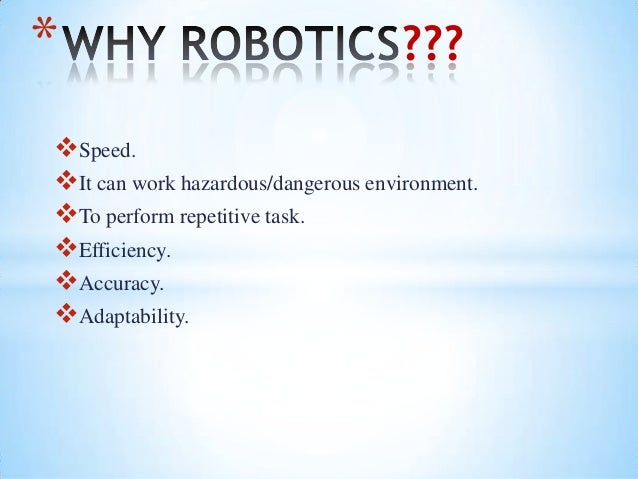 Robotics And Collision Detection