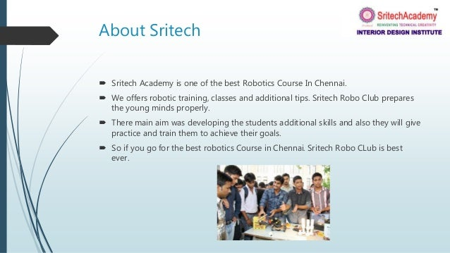 Cool Low Fees Robotics Course In Chennai Complete Home Design Collection Epsylindsey Bellcom