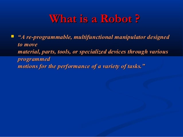 Roboticsin army Slide 2