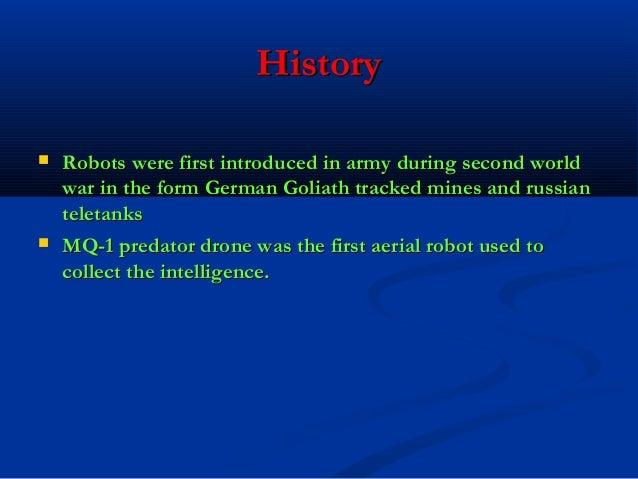 Roboticsin army Slide 3