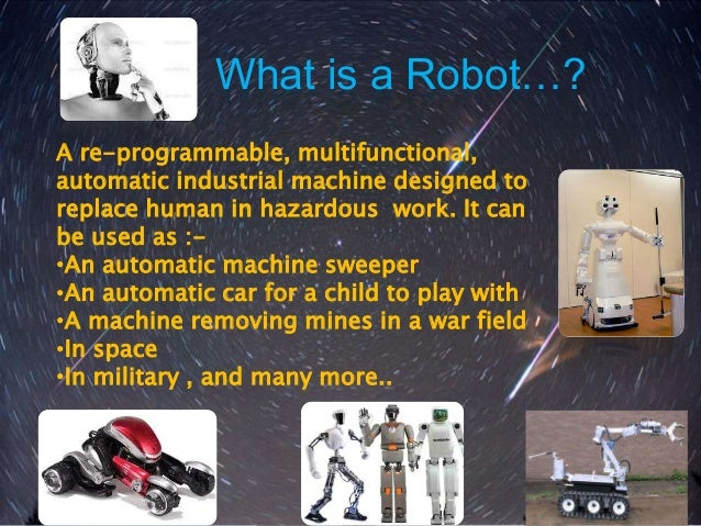 Robotics project ppt Slide 3